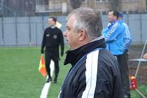 Antonín Hudský během zápasu s Oldřišovem.