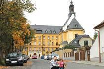 Historická budova Petrinu. Ilustrační foto.