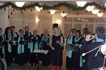 První adventní koncert v Holčovicích.