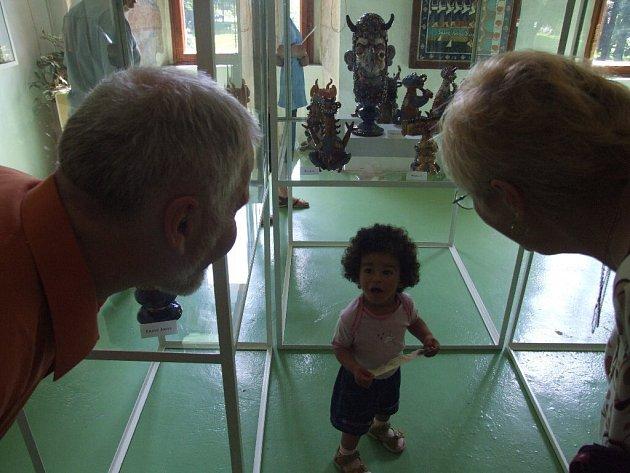 Davy lidí zavítaly na slavnostní zahájení Mezinárodního kulturního léta 2008 na zámek do Linhartov. Nové expozice doplněny o zajímavá vystoupení byly pro návštěvníky magnetem.