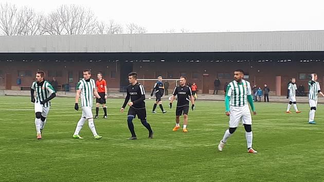 Fotbalisté Krnova remizovali v přípravě s Vratimovem 1:1.