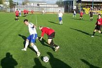 Jiskra Rýmařov hraje přípravná utkání důrazně, ale s jistotou a lehkostí.