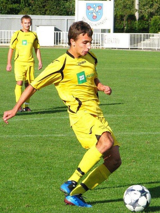 Martin Sabo s míčem.