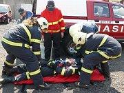 Dobrovolní hasiči z Lomnice.