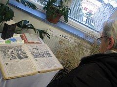 Miniaturní bible, ale i nejstarší, vodě odolné, vydané technologií, určenou pro americkou armádu nebo bible v cizích řečech můžete shlédnout bezplatně do 29. prosince ve vrbenském Středisku chytrých aktivit Střecha.