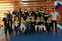 Zástupci z Klubu karate – Dó Bruntál dohromady vybojovali pětadvacet medailí.