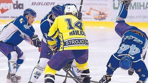 Povedený výkon předvedli krnovští hokejisté proti vedoucímu celku krajské ligy z Orlové.
