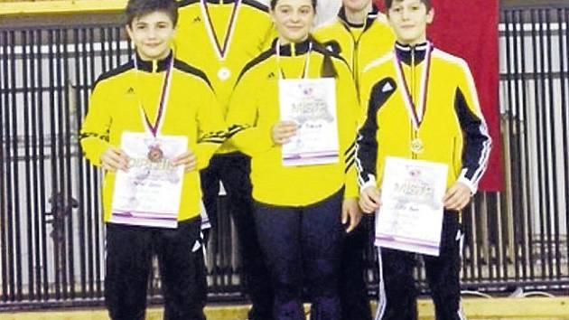 Úspěšná výprava mladých krnovských zápasníků.