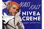 Reklama firmy Nivea z roku 1935
