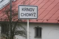 Obyvatele Chomýže u Krnova čeká řada změn a omezení v souvislosti s budováním obchvatu. Víc se dozví 6. března v Hospůdce Na hranici.