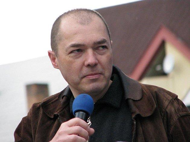 Šéfredaktor Bruntálského a krnovského Deníku Dalibor Otáhal.