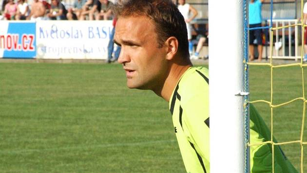 Krnovský gólman Toldi.