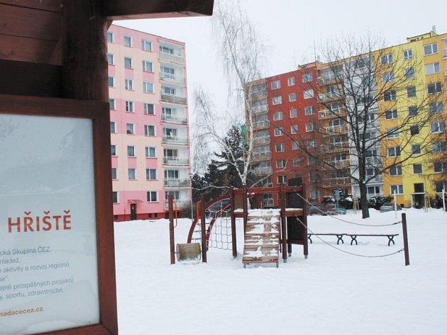 Oranžové hřiště v Krnově funguje od roku 2009. Nyní by chtěly mít něco podobného také Slezské Rudoltice.