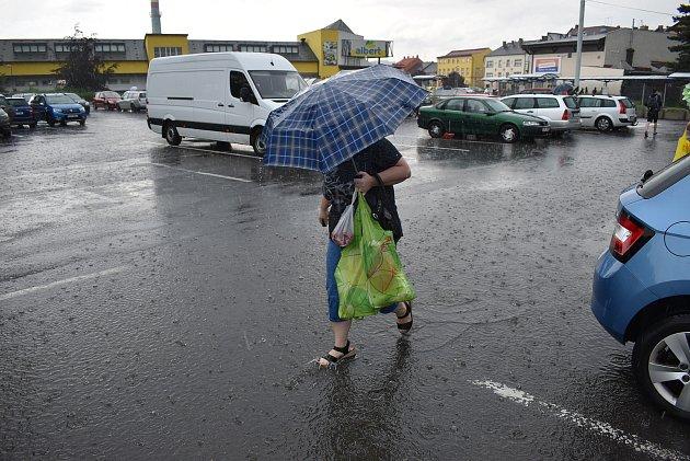 Následky přívalových dešťů v MS kraji a okolí - červen 2020
