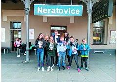 MLADÍ VODNÍ ZÁCHRANÁŘI se vraceli z Neratovic do Krnova se spoustou trofejí. Do závodu dali všechny síly a energii.