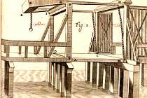 Podobu krnovských dřevěných mostů, které vedly k systému Horní, Hlubčické a Opavské brány, dokládá i soudobá ikonografie.