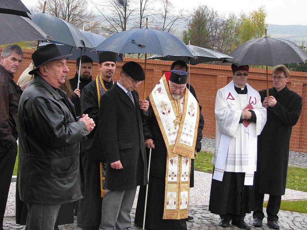 Otevření nového bruntálského hřbitova.