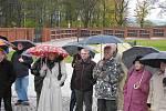 Bruntál otevřel nový hřbitov na Uhlířském vrchu