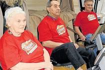 Centrum sociálních služeb pro seniory Pohoda v Bruntále zvítězilo v pomyslné cestě do Paříže na rotopedech.