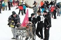 VÍTĚZEM jubilejního desátého ročníku se stala posádka na historickém kole v čele s Kamilem a Lucií Chovančákovými.