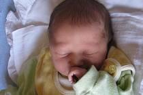 Matyas Adam, narozen 12. 10. 2009, váha 3,055 kg, míra 49 cm, Krnov. Maminka: Pavlína Havlíčková, tatínek: Josef Adam.