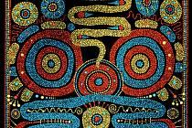 Tečky redisperem jsou oblíbená výtvarná technika výtvarnice Taťány Rekové. V průměru je na jednom obraze 20 - 50 000 teček. Mohou se o tom přesvědčit návštěvníci ART galerie Pension v Karlovicích.