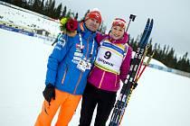 Veronika Zvařičová si ve druhém sprintu při IBU Cupu v Norsku dojela pro čtvrté místo.