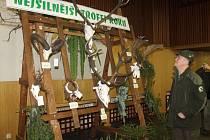 Chovatelská přehlídka trofejí zvěře ulovené v honitbách našeho okresu proběhla v Bruntále.