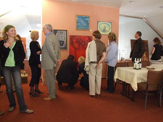 Nová galerie vznikla v atraktivním prostředí hotelu Cvilín.