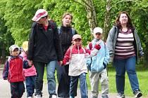 Díky projektům, které podpořila Nadace Terezy Maxové dětem, uspořádala Slezská diakonie například výlet do Hradce nad Moravicí (na snímku), ale i řadu dalších akcí pro rodiny z Albrechticka a Osoblažska.