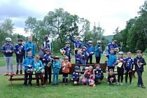 Vrbenský Dráček získal mezi malými cyklisty velkou oblibu, letošního ročníku se zúčastnilo sedmdesát čtyři mladých závodníků.