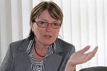 Helena Kudelová je starostkou ve Vrbně pod Pradědem, v době povodní pracovala v Dřevokombinátu. Na velkou vodu vzpomíná jen nerada.