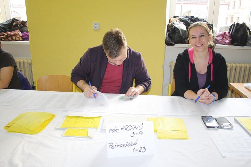 Volby v Krnově.