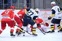 KRNOVŠTÍ hokejisté na  domácím ledě porazili béčko Frýdku.
