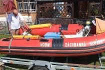 """""""Očesaný"""" člun nejspíše už letos na hladinu nevypluje."""