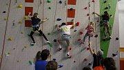 Nová horolezecká stěna v Krnově