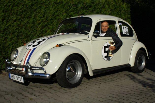 VW Brouk Herbie Jaromíra Pavlíčka zKrnova.