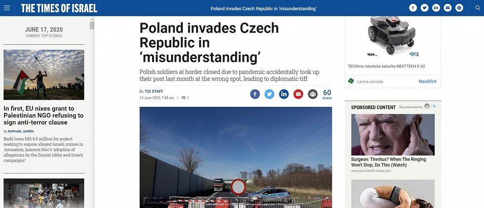 Zpráva novináře Moravskoslezského deníku Františka Kuby se následně objevila v několika médiích ve světě, včetně například CNN či BBC.