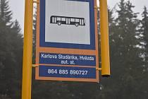 Autobusová doprava z Hvězdy na Ovčárnu. Ilustrační foto.