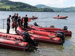 Patnáctý ročník soutěže vodních záchranářů se konal ve středu 12. června na přehradě Slezská Harta.