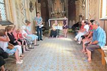 Kaple Panny Marie v Horním Benešově se otevřela veřejnosti, prohlídku zpestřil hudební program.