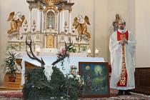 Svatohubertskou mši v Malé Morávce bude sloužit opět farář Marek Žukowski.