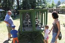 Rodinné klany Beránkových a jejich kolegové ze základní organizace Českého svazu chovatelů uspořádali ve Vrbně pod Pradědem o víkendu každoroční výstavu.