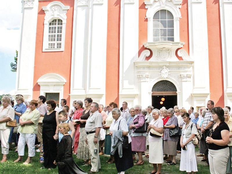 Cvilín nad Krnovem je poutní místo evropského významu.