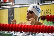 Bruntálský plavec Roman Procházka