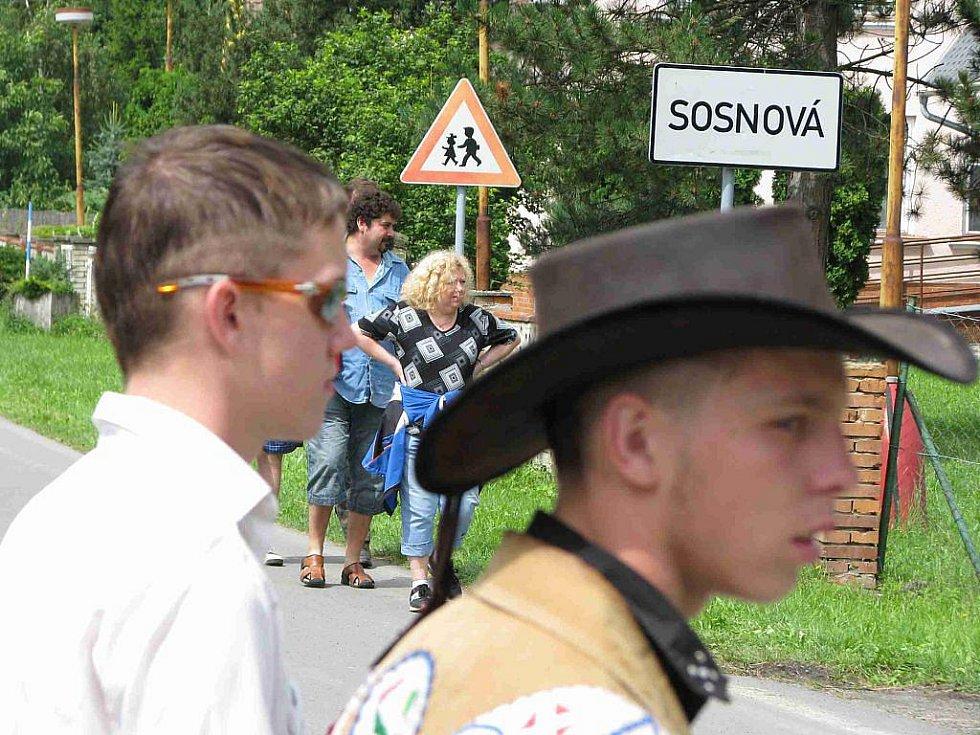 Čtyřiadvacátý ročník přehlídky trampské country písně Eldorádo Sosnová.