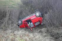 Po kolizi Chevroletu s Fordem z pátku 20. listopadu 2009 zůstal menší z obou vozů a jeho dvoučlenná ženská posádka na střeše.