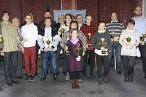 Nejlepší sportovci okresu za rok 2016 se sešli v bruntálském hotelu Slezan.