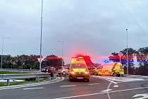 První vážná nehoda se odehrála pět dní poté, co na obchvat Krnova vjela první auta.