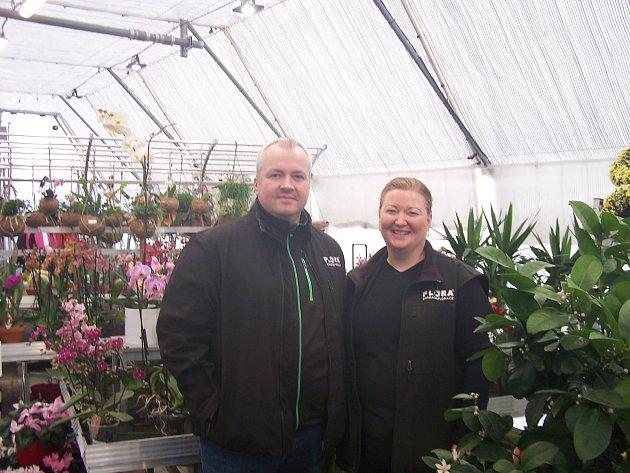 Pavel a Pavlína Florovi vÚvalně vybudovali zahradnické centrum Zahrada Flora.